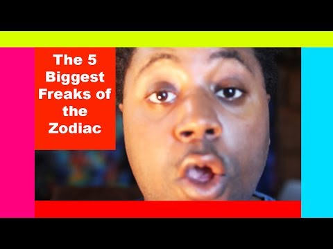 The 5 Biggest Freaks of the Zodiac [No Shame In Their Game!]