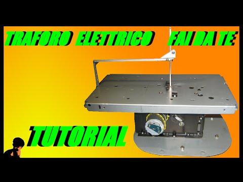 Traforo elettrico per modellismo fai da te youtube for Sifone elettrico per acquario fai da te