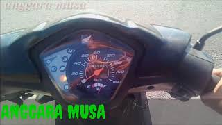 ( RIDER ) Naik motor Honda Revo 110