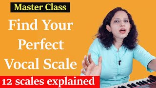 Learn about 12 scales and How to find your scale   Indian Classical Music Lessons