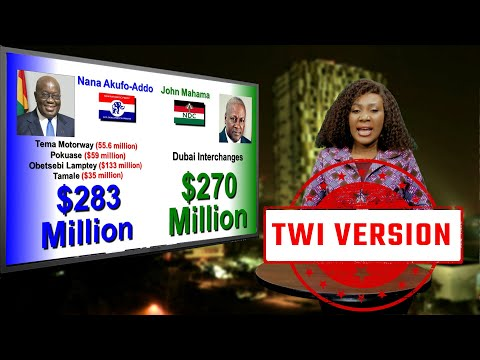 LADY JAST REVEALS WHY MAHAMA USED $270M FOR INTERCHANGE AND NANA USED $283 TO BUILD 4 INTERCHANGES