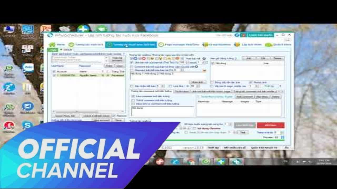 GTOOL – Giới thiệu phần mềm FPlusSheduler tương tác nuôi nick