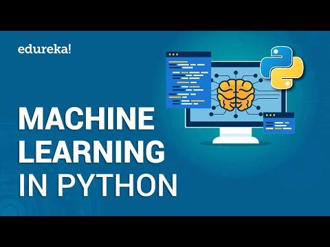 Machine Learning In Python | Python Machine Learning Tutorial | Deep Learning Python | Edureka