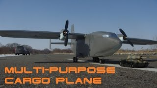 RC Multi-Purpose Cargo Plane (Load  Tank) / модель грузового самолета