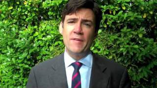 Andy Burnham Manifesto Blog