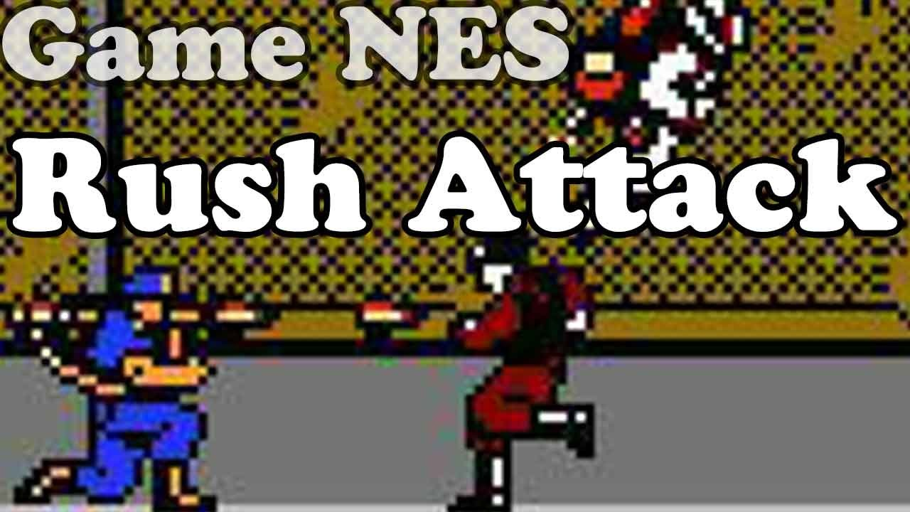 Rush'n Attack – Nes Games – Điện tử 4 nút