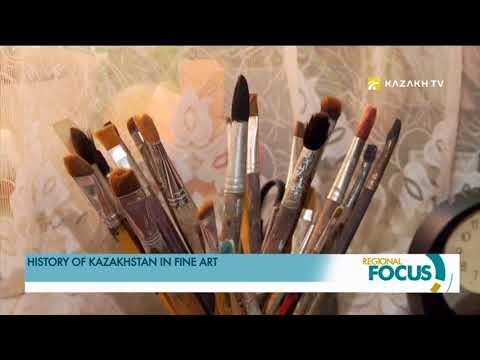 History of Kazakhstan in fine art