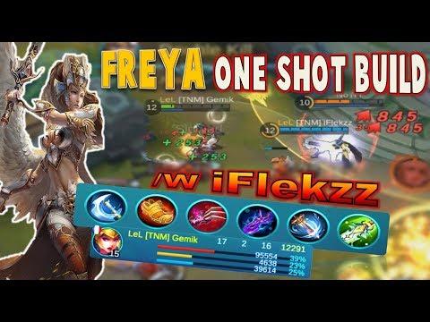Gemik & iFlekzz BEST Mobile Legends DUO IS BACK ! Freya ONE SHOT Build