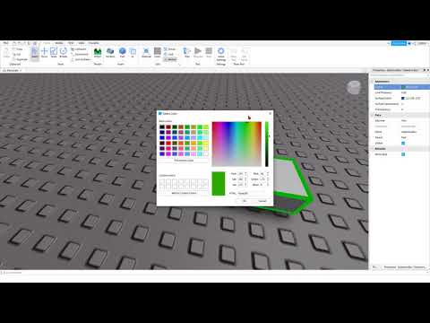 How to Create An Outlined Brick In Roblox Studio.