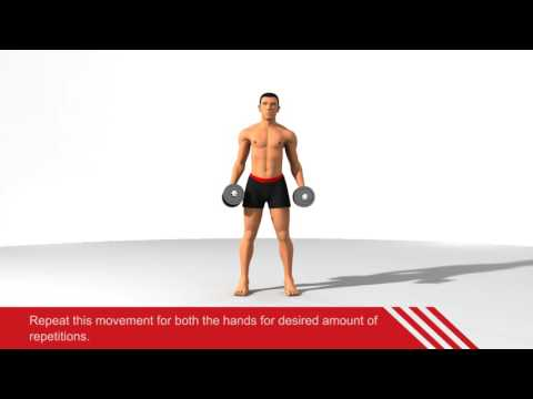 Dumbbell Side Bends (Burns 272 Calories)