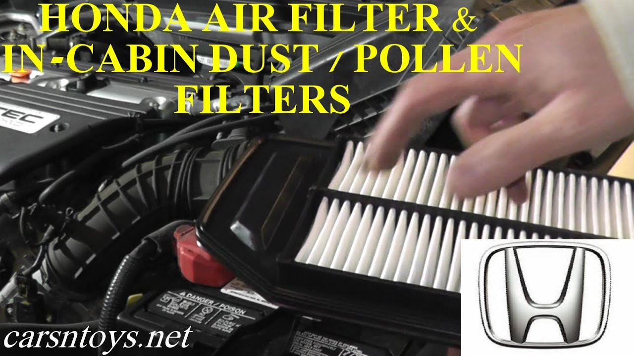 Honda Accord Air Filter And Cabin Dust Pollen Filter