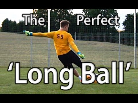 Long Ball | Goal Kick | Goalkeeper Technique | Virtual Goalk