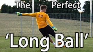 Long Ball | Goal Kick | Goalkeeper Technique | Virtual Goalkeeper Coaching | GKeeping