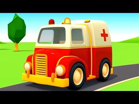 Helfer Autos auf Deutsch. Spiel mit Spielzeugautos. Zeichentrickfilme für Kinder.