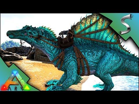 EPIC SPINO MUTATION! UNDERWATER CAVING WITH A SPINO! - Ark: Survival Evolved [S3E104]