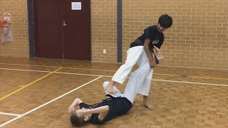 First Taekwondo self defence for Juniors
