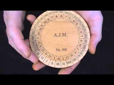 Union Army Cipher Wheels - Civil War Encryption Device