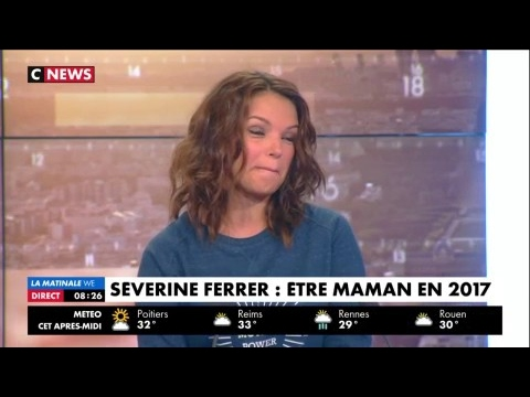 Severine Ferrer : ''On ne naît pas maman, on apprend à l'être''
