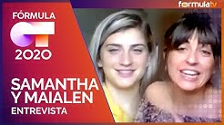 Entrevista a Samantha y Maialen tras su expulsión a las puertas de la final de OT 2020 - Fórmula OT