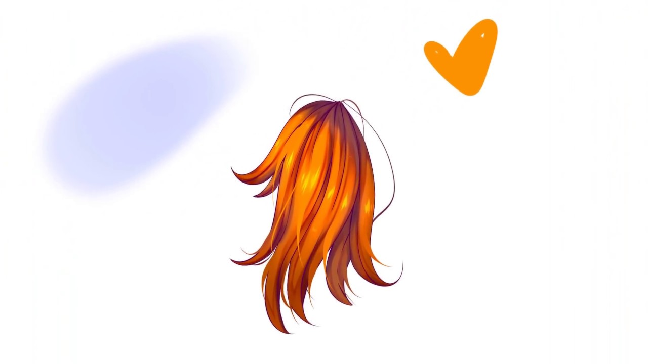 HAIR COLORING TUTORIAL! 【PAINT TOOL SAI】