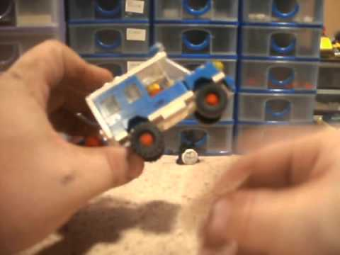 Vintage Lego Set Review 6698 RV With Speedboat