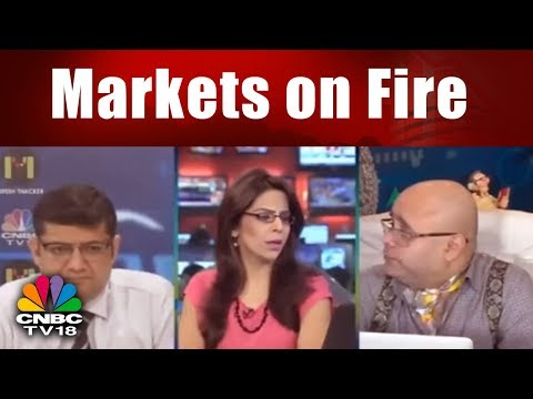Markets on Fire; Nifty 50 Trades above 10,960; Sensex Gains 276 Pts || CNBC TV18
