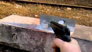 Тест пневматического пистолета