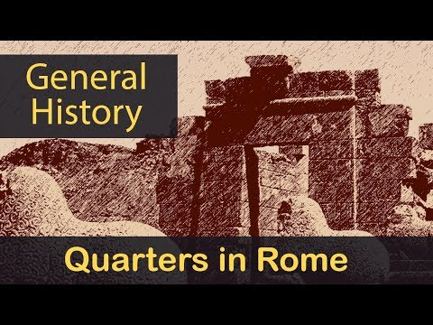 General History | Life For Ancient Romans | Living Quarters & Houses In Rome | Lecture 30