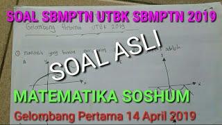 Download Video Soal UTBK SBMPTN 2019 MATEMATIKA SOSHUM MP3 3GP MP4