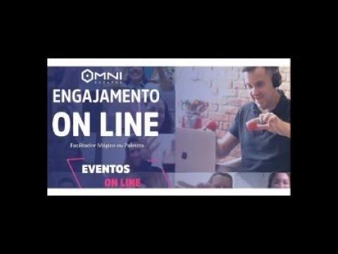 Eventos Online: Palestrante e Facilitador Mágico - OMNI EVENTOS