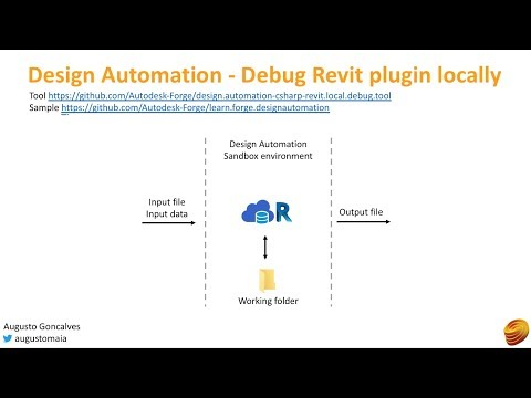 Design Automation - Debug Revit plugin locally | Autodesk Forge