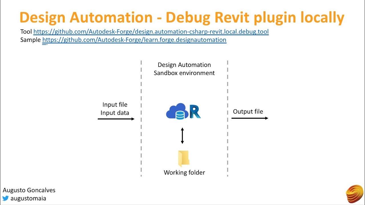 Design Automation - Debug Revit plugin locally | Autodesk Forge
