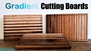 Cutting Boards | How to Build Gradient Cutting Boards | DIY