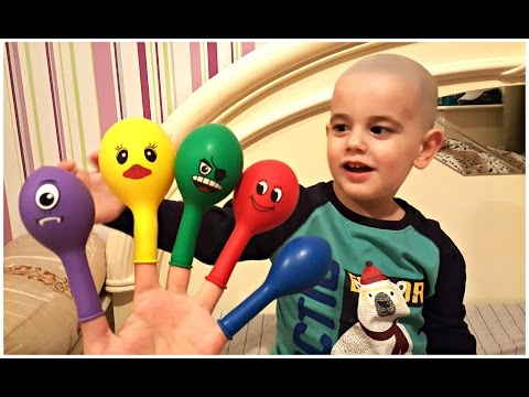 Thumbnail: Baby Finger Family Song for LEARNING COLORS with Real Baby videos