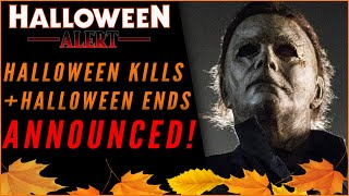 TWO Halloween 2018 Sequels Announced! Halloween Kills & Halloween Ends