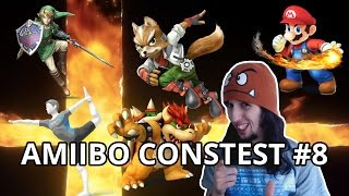 AMIIBO CONTEST #8 JEAN LOUIS A DOMICILE - SUPER SMASH BROS FR WII U