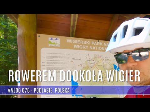 Rowerem dookoła jeziora Wigry cz. 1