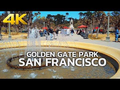 SAN FRANCISCO - Golden Gate Park, San Francisco, California, USA, Travel, 4K UHD