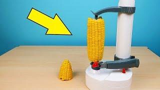 Новая Яблокорезка против Кукурузы! Попробуй не залипнуть! Яблокожорка. alex boyko