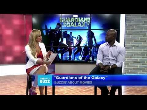 Jessica interviews Djimon Hounsou from Guardians of the Galaxy
