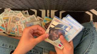 Selling my dad's baseball cards from the 80's