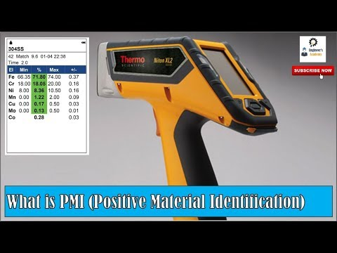What Is PMI ?? Positive Material Identification ||Engineer's Academy||