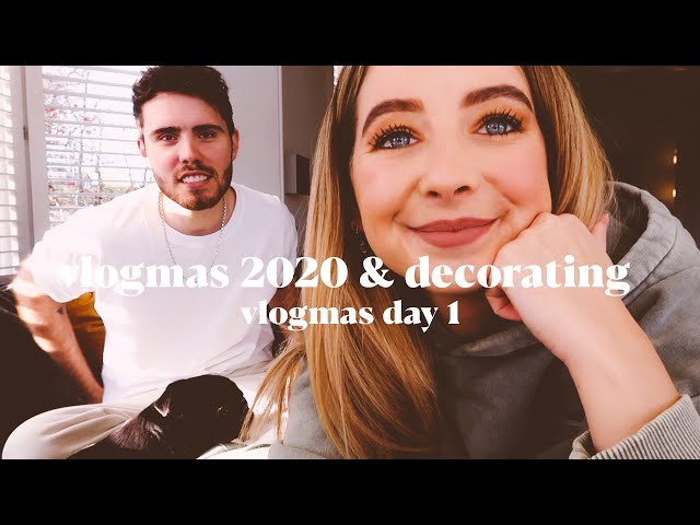 Vlogmas 2020 & Decorating for Christmas | VLOGMAS