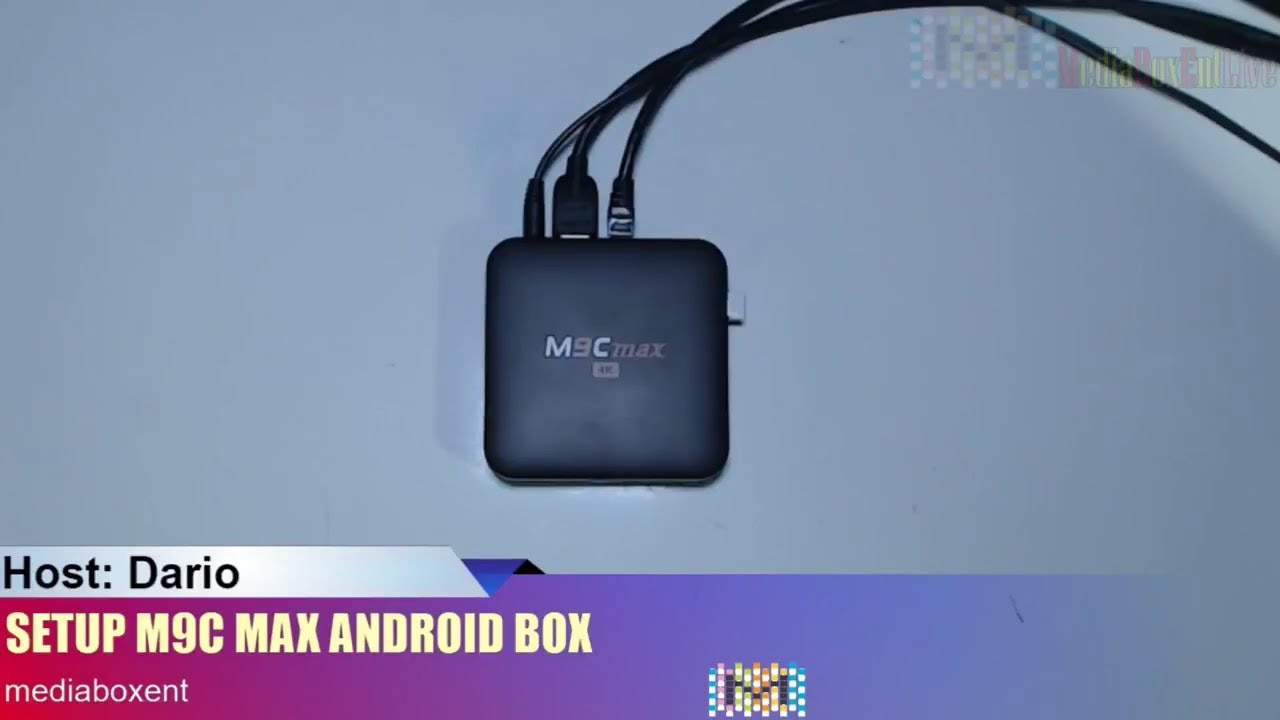 HOW TO SETUP M9C MAX 4K ANDROID TV BOX