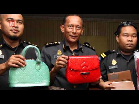 'Branded goods' online shop busted