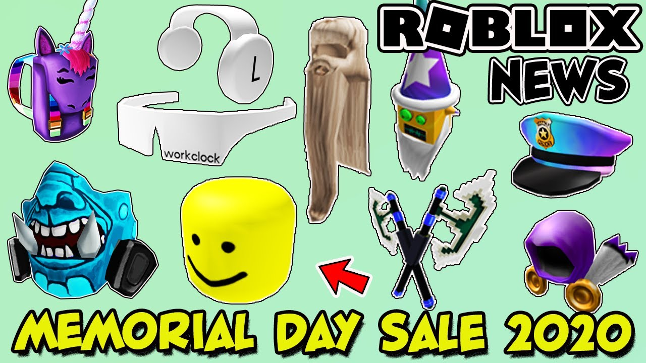 Roblox Limited Leaks 2020 Roblox Memorial Day Sale 2020 Leaks A Look At Previous Sales Youtube