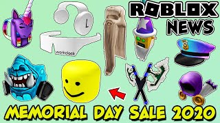 Roblox Memorial Day Sale 2020 - Leaks & A Look At Previous Sales