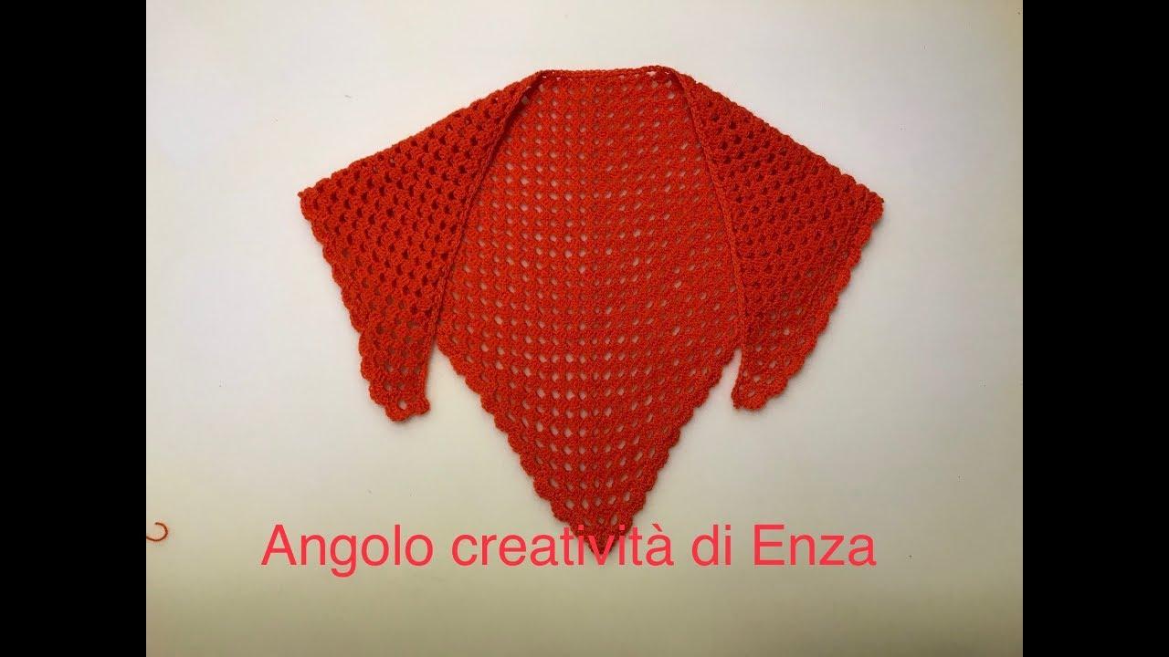 Scialle Coprispalle Triangolare Alluncinetto Facilissimocrochet