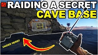 Gambar cover Rust - I FOUND And RAIDED A Loaded SECRET CAVE-BASE! (Rust Solo Survival) 3/3