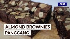 ALMOND BROWNIES PANGGANG